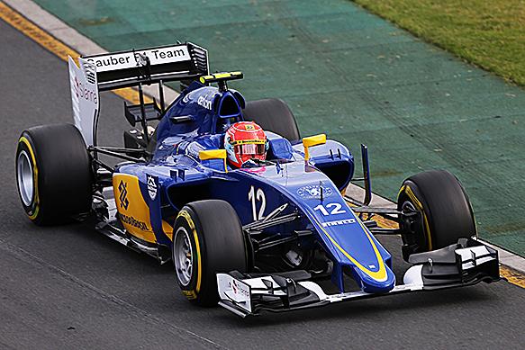 Felipe Nassr na Sauber